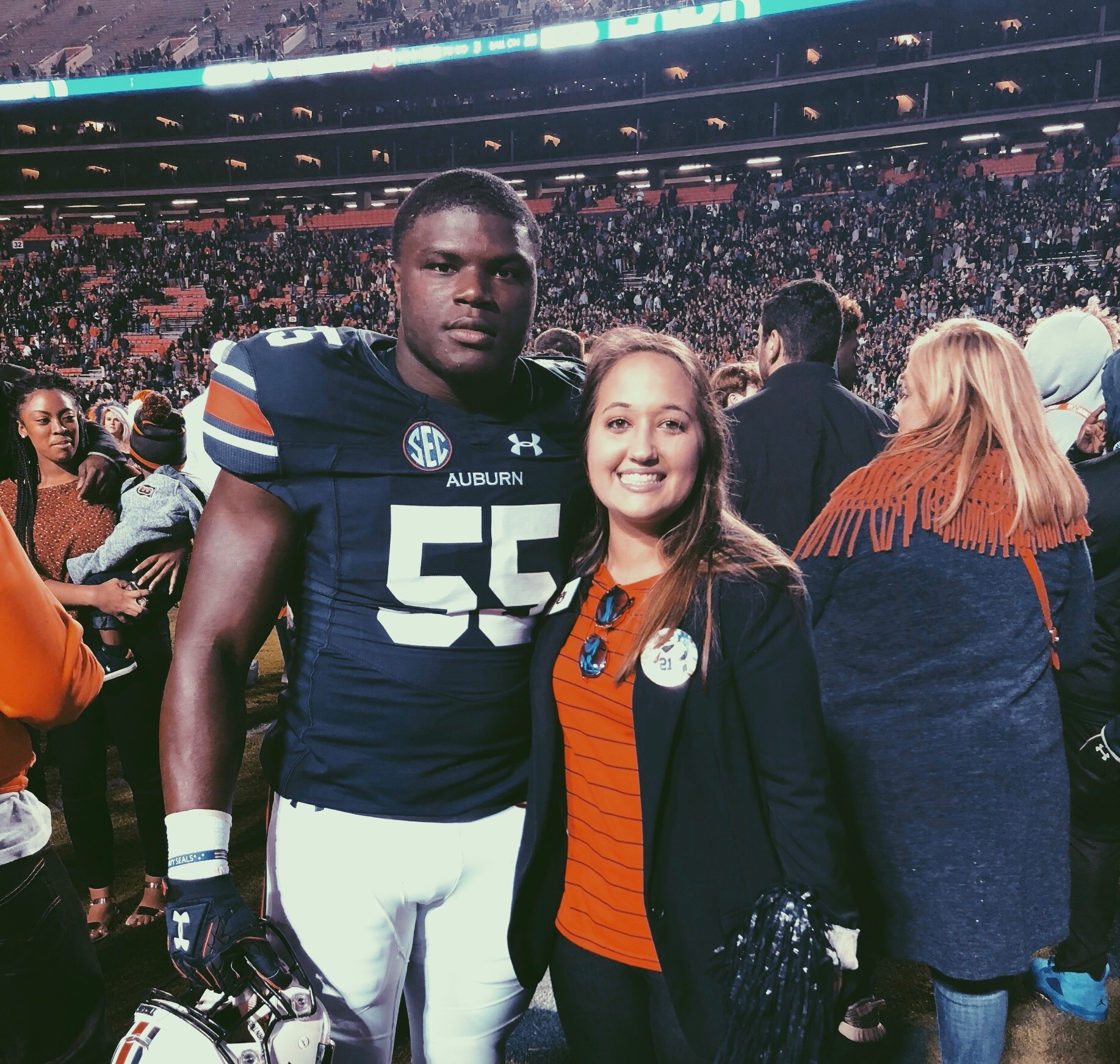 Auburn Football Player